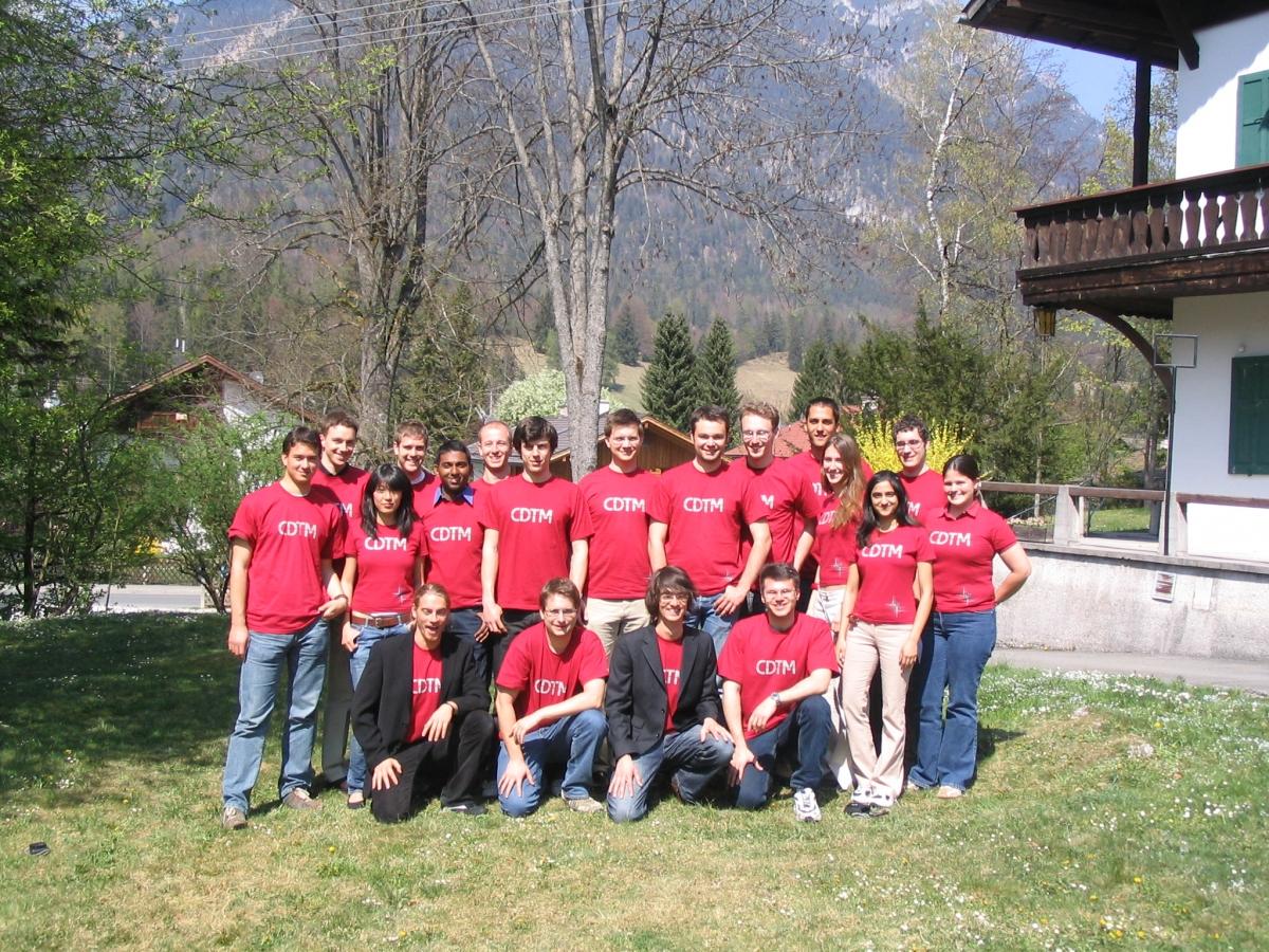 CDTM Class Spring 2007