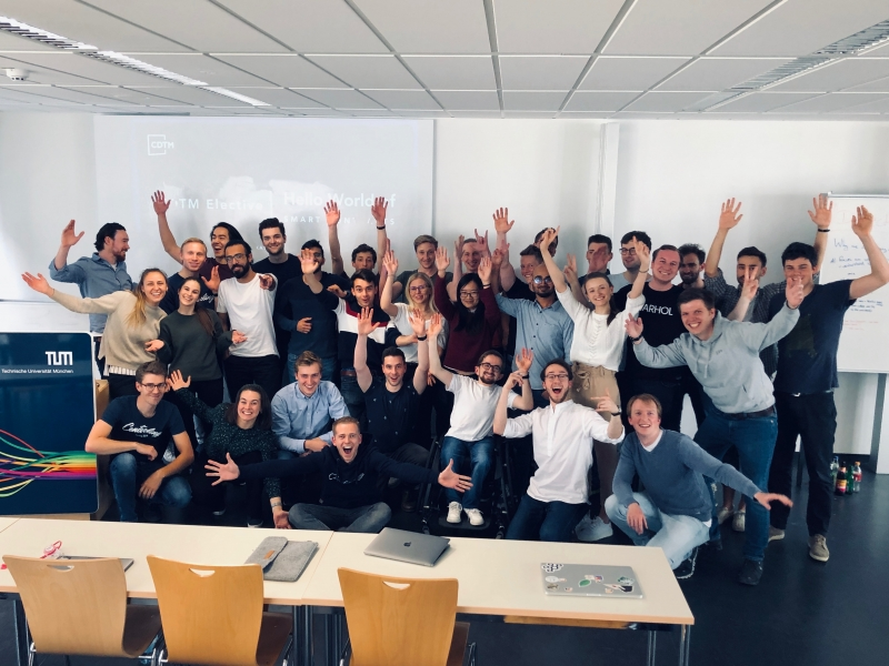 Smart Contracts Elective Group Photo