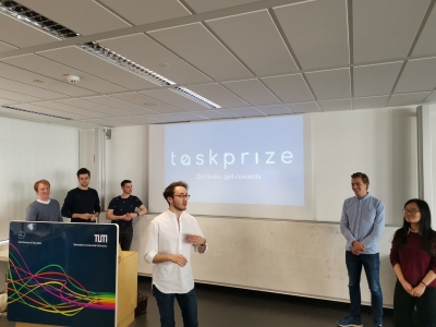 Smart Contracts Application No1 Taskprize